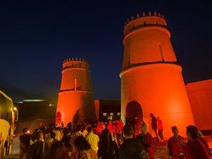 砂漠パーティー門